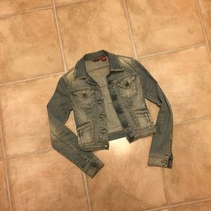Guess Jeans cropped denim jacket